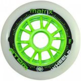Kolieska na korčule Atom Matrix 90mm 86A (1ks) green