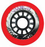 Kolieska 80 a 82 mm Powerslide Hurricane 80mm 85A (4ks) red