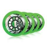 Kolieska 70 a 72 mm Powerslide Hurricane 72mm 85A (4ks) green