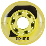 Kolieska na korčule Prime Wheels Centurio 76mm 82A (4ks) yellow