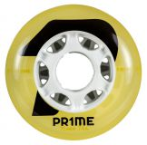 Kolieska na korčule Prime Wheels Tribune 76mm 74A (4ks) yellow