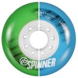 Kolieska 80 a 82 mm Powerslide Spinner 80mm 85A (4ks) blue
