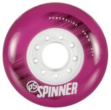Kolieska 80 a 82 mm Powerslide Spinner 80mm 85A (4ks) pink