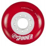 Kolieska 80 a 82 mm Powerslide Spinner 80mm 85A (4ks) red