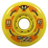 Kolieska 70 a 72 mm Hyper Pro 250 72mm 82A (4ks) yellow