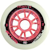 Kolečka na brusle Atom Matrix 80mm 86A (8ks) pink