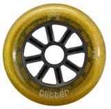 Kolieska 110 mm FR Glitter Wheel Gold 110mm 85A (1ks)