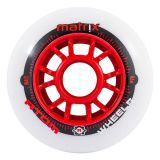 Kolieska 84 mm Atom Matrix 84mm 86A (8ks) red