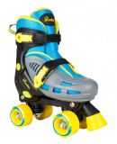 Dvojradové korčule Rookie Adjustable Skate Duo Junior Blue/Yellow