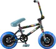 Mini BMX Rocker 3+ Freecoaster Crazy Main Splatter Mini BMX Bike