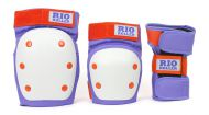 Chrániče Rio Roller Triple Pad Set Purple/Orange