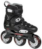 Freeskate és urban görkorcsolya Powerslide Imperial 110 Black Crimson