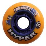 Kolieska 70 a 72 mm Hyper Formula G Era 72mm 76A (4ks) orange