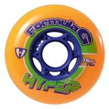 Kolieska 76 a 78 mm Hyper Formula G Era 76mm 76A (4ks) orange