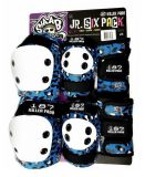 Chrániče 187 Killer pads Jr. Six Pack Staab Blue