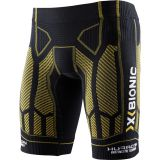 Nohavice X-bionic For Automobili Lamborghini Running Man Huraca'n Ow Pants Short Black/yellow