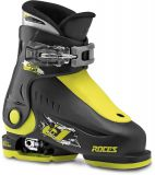 Lyžiarky Roces Idea Up 6in1 adjustable Ski Boots Black/Green