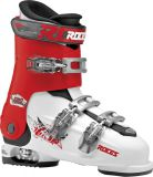 Lyžiarky Roces Idea Free 6in1 adjustable Ski Boot White/Red