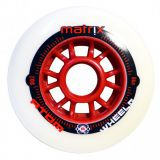 Kolieska na korčule Atom Matrix 90mm 86A (1ks) red