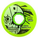 Kolieska 80 a 82 mm MPC Freestyle Wheels 80mm X-Firm Yellow (4ks)