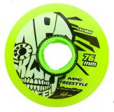 Kolieska 80 a 82 mm MPC Freestyle Wheels 76mm X-Firm Yellow (4ks)