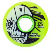 Kolieska 70 a 72 mm MPC Freestyle Wheels 72mm X-Firm Yellow (4ks)