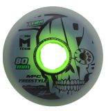 Kolieska 80 a 82 mm MPC Freestyle Wheels 80mm X-Firm Dual Natural (4ks)