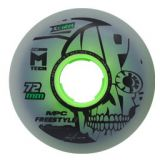 Kolieska 70 a 72 mm MPC Freestyle Wheels 72mm X-Firm Dual Natural (4ks)