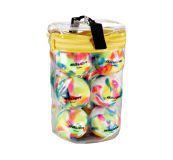 Inline puky a loptičky Bauer Multicolored Ball Pack (12ks)