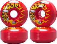 Gördeszka kerekek Speed Demons Characters Skateboard Wheels 52mm (4db)