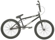 BMX Division Blitzer 20 inch 2021 BMX Freestyle Bike Black / Polished