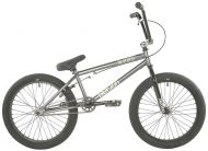 BMX Division Blitzer 20 inch 2021 BMX Freestyle Bike Metal Grey / Polished