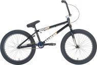 BMX Academy Entrant 20 inch 2021 BMX Freestyle Bike Gloss Black / Rainbow