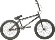 BMX Division Brookside 20 inch 2021 BMX Freestyle Bike Black / Polished