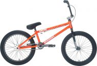 BMX Academy Aspire 20 inch 2021 BMX Freestyle Bike Orange Crackle