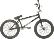 BMX Division Fortiz 20 inch 2021 BMX Freestyle Bike Black / Polished