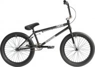 BMX Division Fortiz 20 inch 2021 BMX Freestyle Bike Crackle Silver