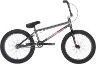BMX Academy Desire 20 inch 2021 BMX Freestyle Bike Gun Metal Grey