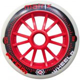 Kolečka na brusle Atom Matrix 125mm 86A (1ks) Red
