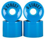 D Street Wheels 59 Cent 78A blue (4ks)