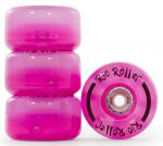 Rio Roller Light Up Wheels 58mm 82A Pink Frost (4ks)