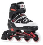 SFR Camden Adjustable Skates Black