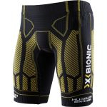 X-bionic For Automobili Lamborghini Running Man Huraca'n Ow Pants Short Black/yellow
