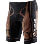X-bionic For Automobili Lamborghini Running Man Ow Pants Short Black/orange