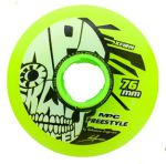 MPC Freestyle Wheels 76mm X-Firm Yellow (4db)