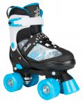 Rookie Adjustable Skate Ace Junior Black Blue