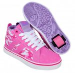 Heelys Racer Mid 20 Hot Pink/White Cameo