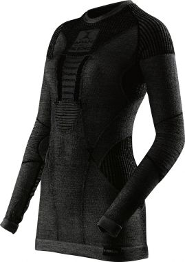 Apani Merino By X-Bionic Fastflow Shirt Women Black