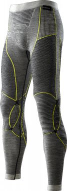Apani Merino By X-Bionic Fastflow Grey/Yellow Pants Men