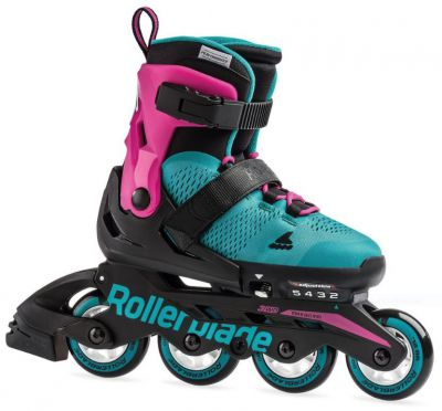 Rollerblade MicroBlade G 2020 Pink / Emerald Green